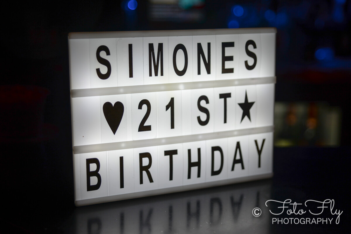Simone's 21st birthday