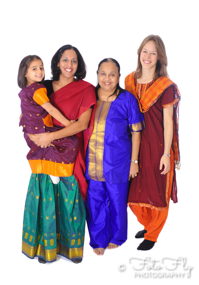 Colourful Family Shoot