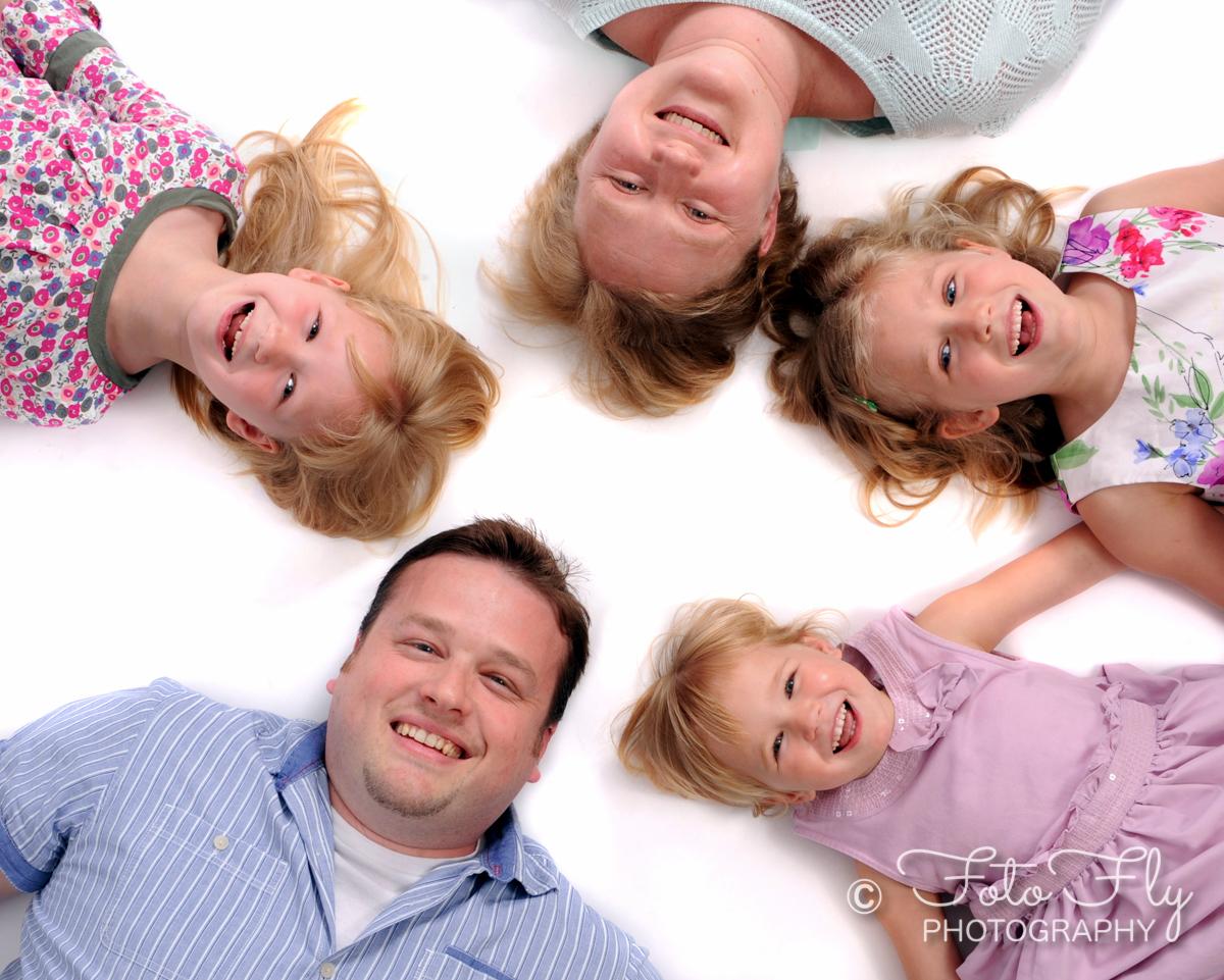 Matt and Mel's beautiful family